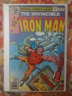 Iron Man #118 - 1st appearance of James Rhodes (VF/NM)