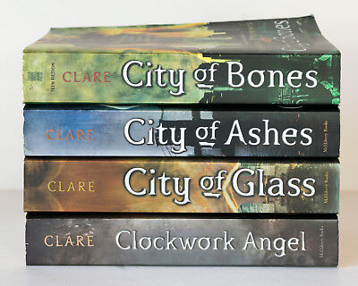 Lot of 4 MORTAL INSTRUMENTS #1-3 INFERNAL DEVICES #1 Series Set Books - C. Clare