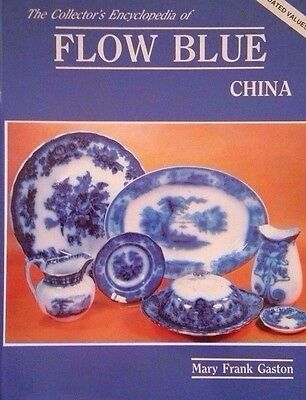 FLOW BLUE CHINA ENCYCLOPEDIA PRICE GUIDE dish bowl pitcher plate chamber pot cup