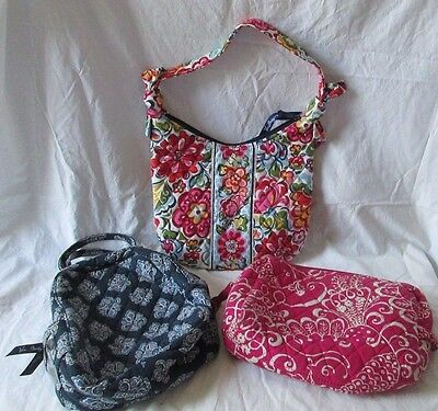 Lot of 3 Vera Bradley Mixed Items Various Patterns