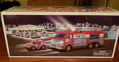 2005 Hess Truck Emergency Truck With Rescue Vehicle - New In Box Nib