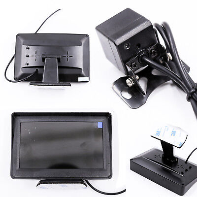 "Wireless 4.3"" TFT LCD Monitor Car Backup Camera Rear View System Night VisionKit"