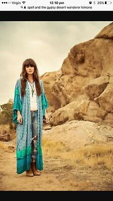 Spell And The Gypsy Desert Wanderer Kimono One Size