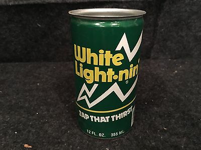 Vintage White Lightning Soda Can from Elizabethtown Kentucy Bottling Plant
