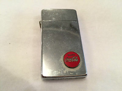 Vintage Coca Cola Lighter Cigarette Cigar Enjoy Coke
