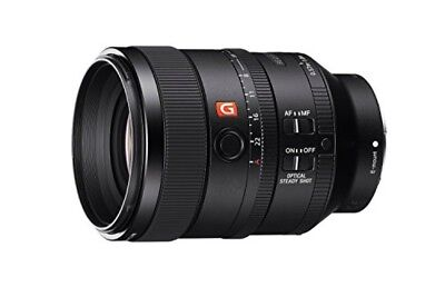 SONY single focus lens FE 100 mm F 2. 8 STF GM OSS E mount 35 mm full size