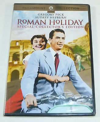 Roman Holiday (1953) New Collector's Edition DVD, Gregory Peck, Audrey Hepburn
