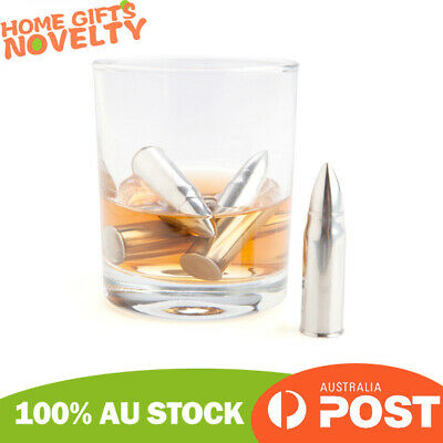 Whisky Lightweight Bullet Shaped Ice Cube Stones Wine Chiller Cooler
