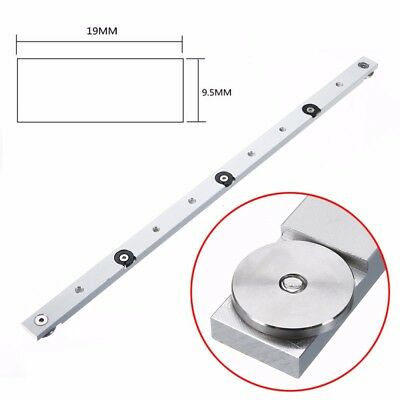 "18"" 450mm Aluminium Alloy Rail Miter Bar Slider Table Saw Gauge Rod Woodworking"