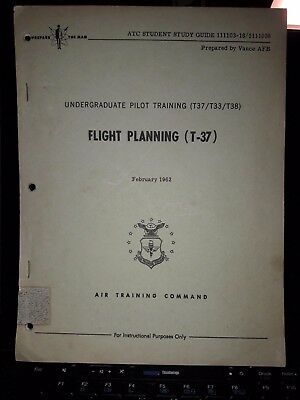 Us Airforce Flight Planning T-37