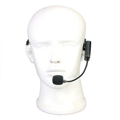Wireless Microphone Headset MIC Voice Amplifier For Teaching/Tour Guide/Meetings