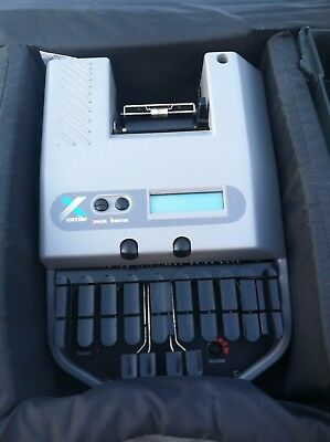 Xscribe Stenoram 3 court reporting writer with accessories. VERY GOOD CONDITION!