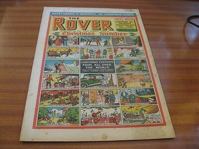 THE ROVER No 1538 DEC 18TH 1954 GOOD CONDITION DC THOMSON VINTAGE BRITISH COMIC