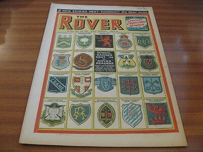 THE ROVER No 1537 DEC 11TH 1954 GOOD CONDITION DC THOMSON VINTAGE BRITISH COMIC