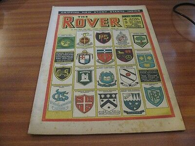 THE ROVER No 1533 NOV 13TH 1954 GOOD CONDITION DC THOMSON VINTAGE BRITISH COMIC
