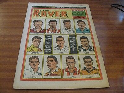 THE ROVER No 1536 DEC 4TH 1954 GOOD CONDITION DC THOMSON VINTAGE BRITISH COMIC