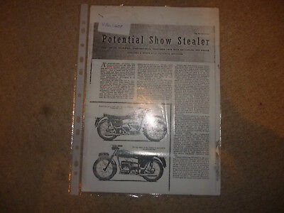 Velocette Valiant & Veeline technical & historical literature-6 items