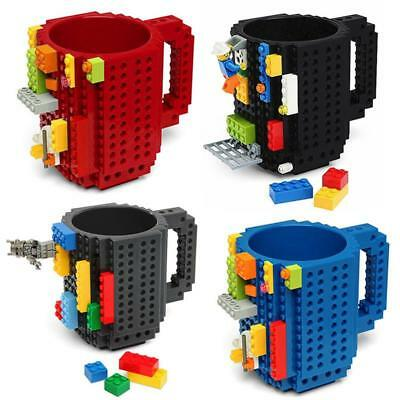 Tazza LEGO compatibile mattoncini costruzioni  Built on bricks mug