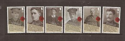 Iom 2008 End Of Ww11 Mnh Set Of Stamps