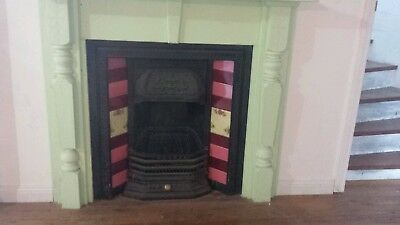 Antique fireplace and mantle furniture