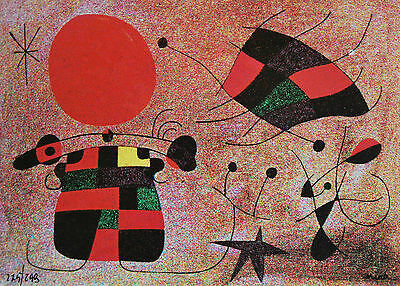 Joan Miro - Print on metal - edition of 299