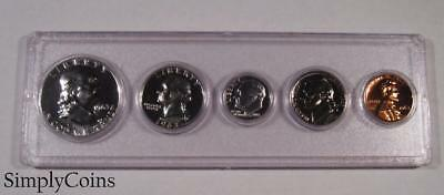 1963 Proof Set ~ GEM Uncirculated ~ 90% Silver US Coin Lot