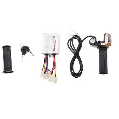 24V500W Motor Brush Speed Controller&Electric Bike Throttle Twist Grip#2