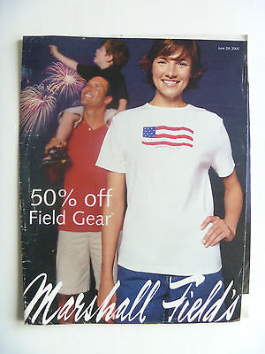 *RARE* Marshall Fields Sales Flyer Ad 2003 Hard To Find VTG