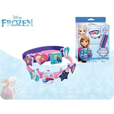 Set 3 Braccialetti Frozen Con 18 Accessori Disney