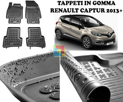 Tappetini Auto In Gomma - Renault Captur 2013 In Poi Tappeti Top Qualita