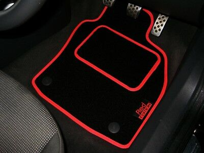 Red Edition Car Mats To Fit Audi SQ5 (2013-2018) + Logos