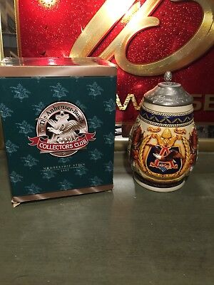 Anheuser Busch Collectors Club 1997 Membership Stein CB5