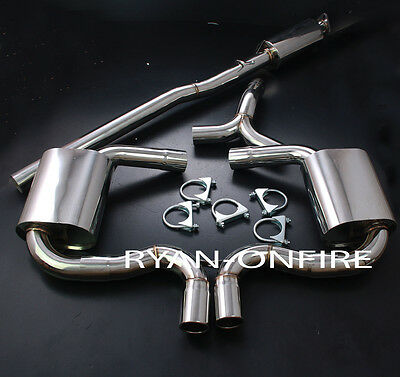 Mini Cooper S R53 Stainless Steel Cat Back Exhaust System 2.5'' Pipes