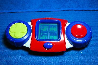 Fisher Price Kid Tough Handheld LCD Game System - 8 Built-in Games - Works Great