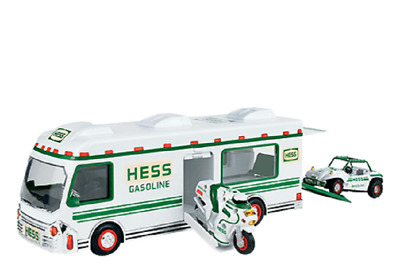 1998 Hess Truck  New In Box with extra C Batteries
