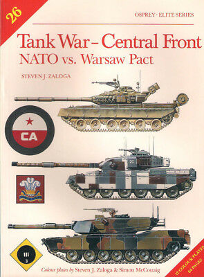 P65 Osprey - ELITE Series No 26: Tank War - Central Front, NATO vs. Warsaw Pact