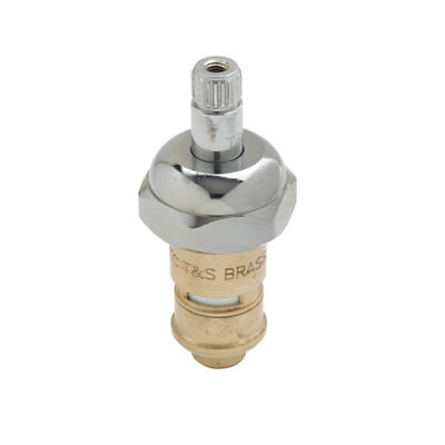 T&S Brass 012394-25 Cerama Cartridge with Bonnet Nut and Check Valve, Hot