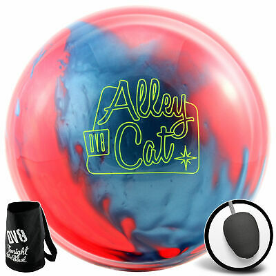Bowling Ball DV8 Alley Cat red electric blue 10-15 lbs, Reaktiv, Strikeball