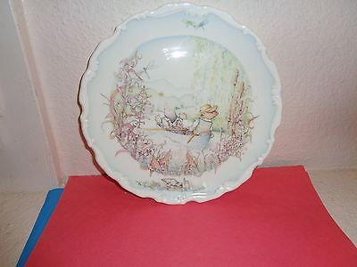 Royal Doulton Wind in the Willows plate Ratty and Mole Go Boating