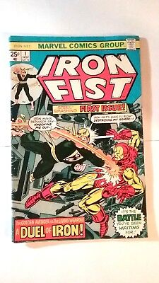 Iron Fist #1 (Nov 1975, Marvel)