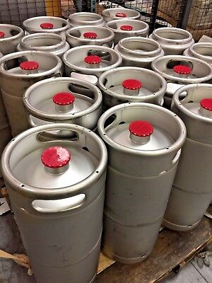 (20) NEW Kegco 5 Gallon Commercial Draft Beer Keg 1/6 Barrel D system valve 2017