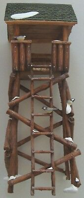 Dept 56 Heritage Village Lookout Tower #52829 With Box