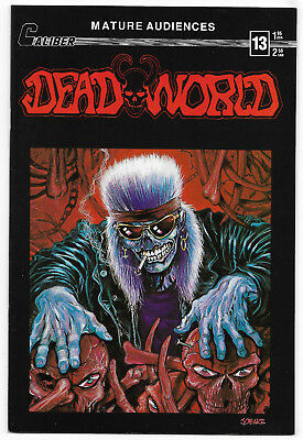 Dead World #13 (July 1989, Caliber Press Comics) James O Barr Cover