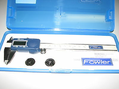 "Fowler 6"" Digital Caliper - Aircraft,Automotive,Machinist,Industrial,Truck Tools"