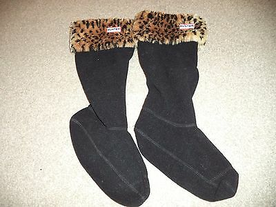 HUNTER women's welly socks size L, UK 6-8