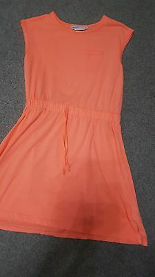 Girls Tammy Girl Coral Summer Day Dress 9-10 Years Good used condition