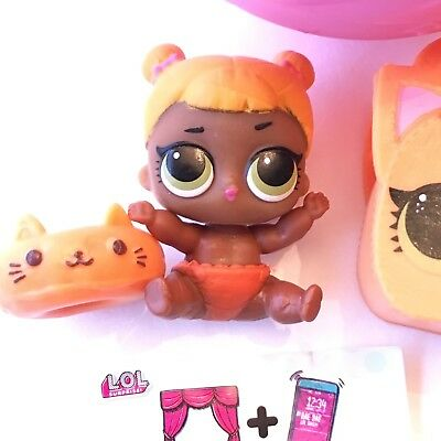 Series 2 LOL SURPRISE DOLL Lil Baby Cat New Authentic Sister Napping Popular