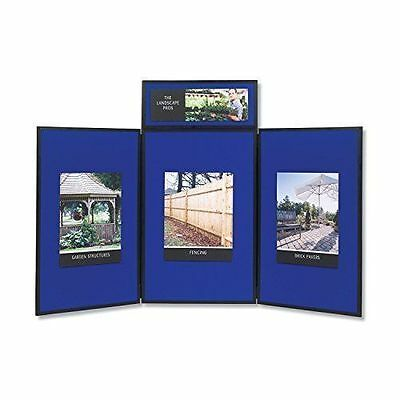 Quartet Show-It! 3-Panel Exhibition Display System - SB93513Q Brand New IN Box!!