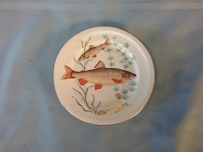 Fish Plate Poland C. Mielow Desert Bred Replacement Plate 6 3/4