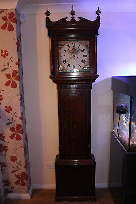 Antique Longcase / Grandfather Clock, C1800, Moon Phase, Absolutely Stunning.